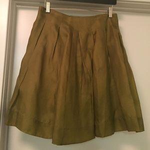 Dresses & Skirts - **Moving Sale - Chiffon Pleated A-Line Skirt